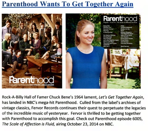 Parenthood&FervorRecords